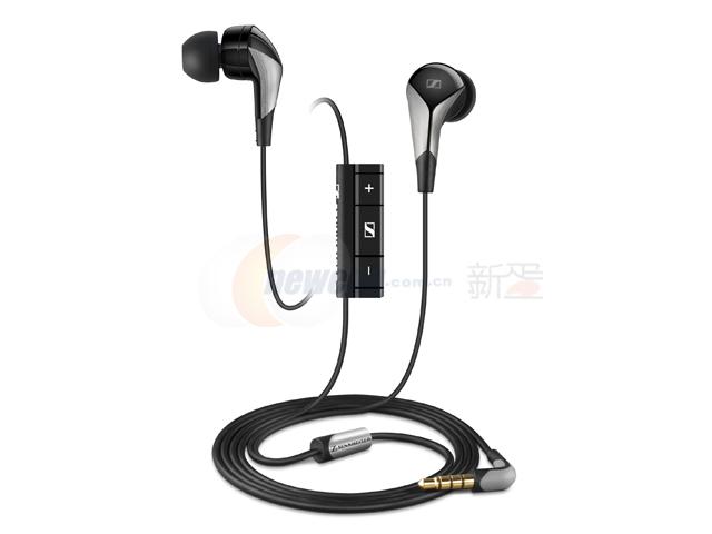 森海塞尔 cx880i 高品质立体声入耳式耳机 iphone专用版 集成麦克风图片