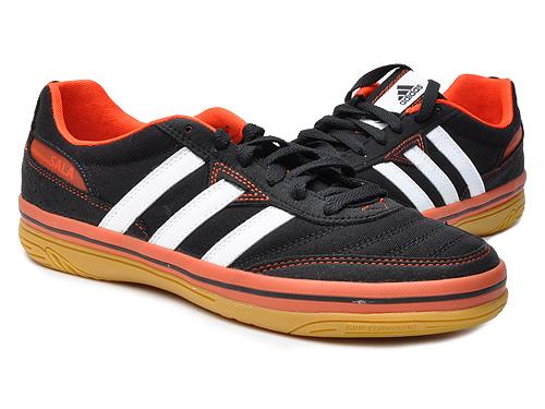 adidas 男式 场下鞋款系列透气室内足球鞋