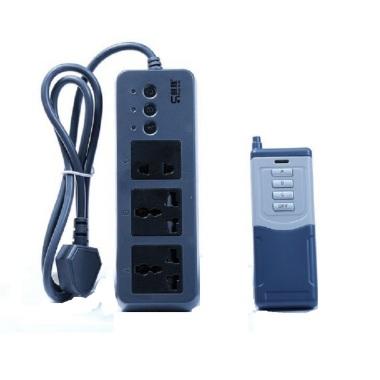 创胜 节能型遥控排插三孔 jn-168 遥控开关 遥控插座