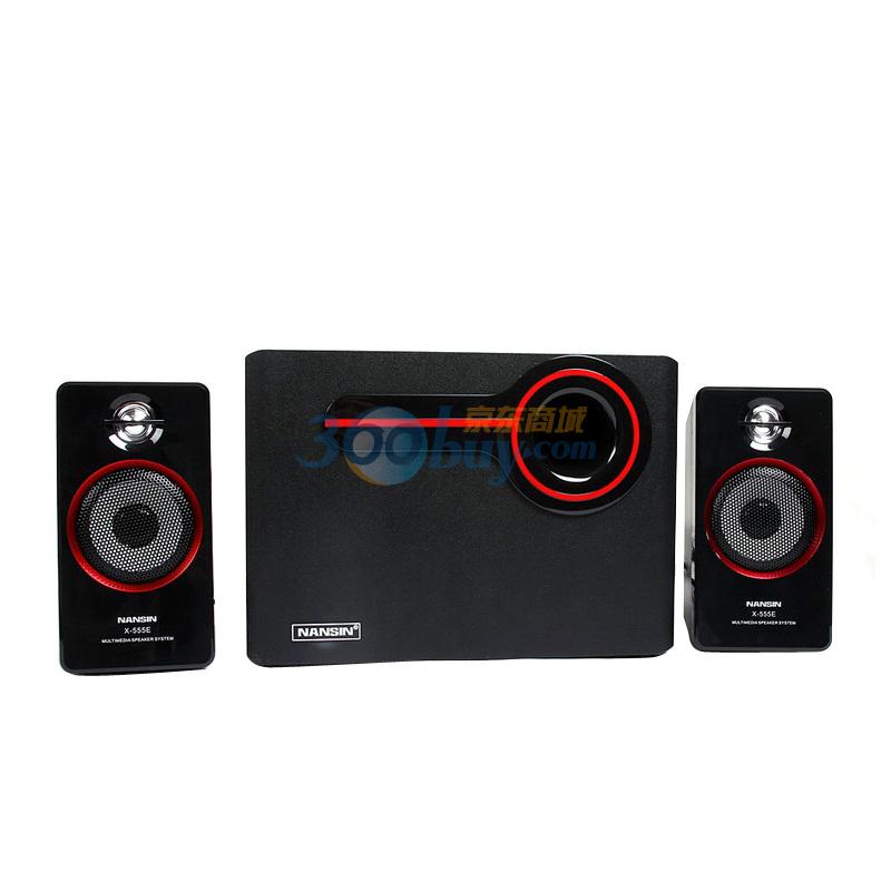 兰欣音箱 x-555e 电脑音响 低音炮音响 低音强劲震撼 音质好怎么样?