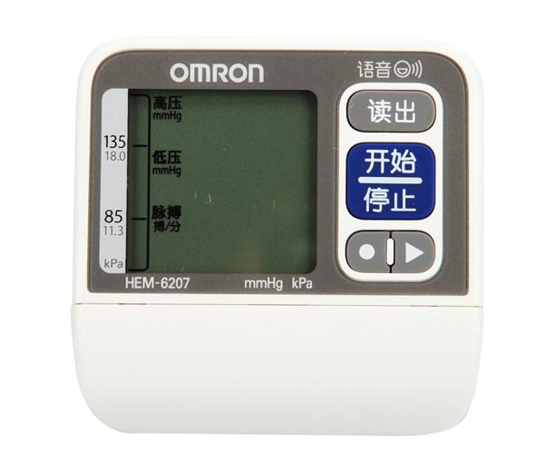 欧姆龙电子血压计hem-6207