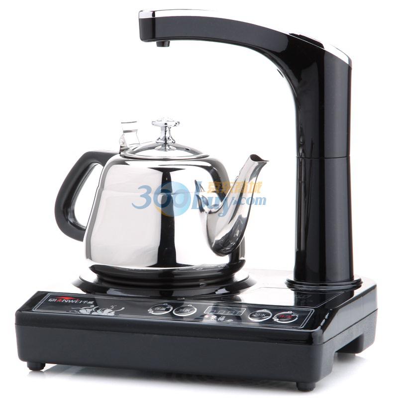 千威a111c 特级耐高温黑晶板多功能茶道电茶炉 1.2l