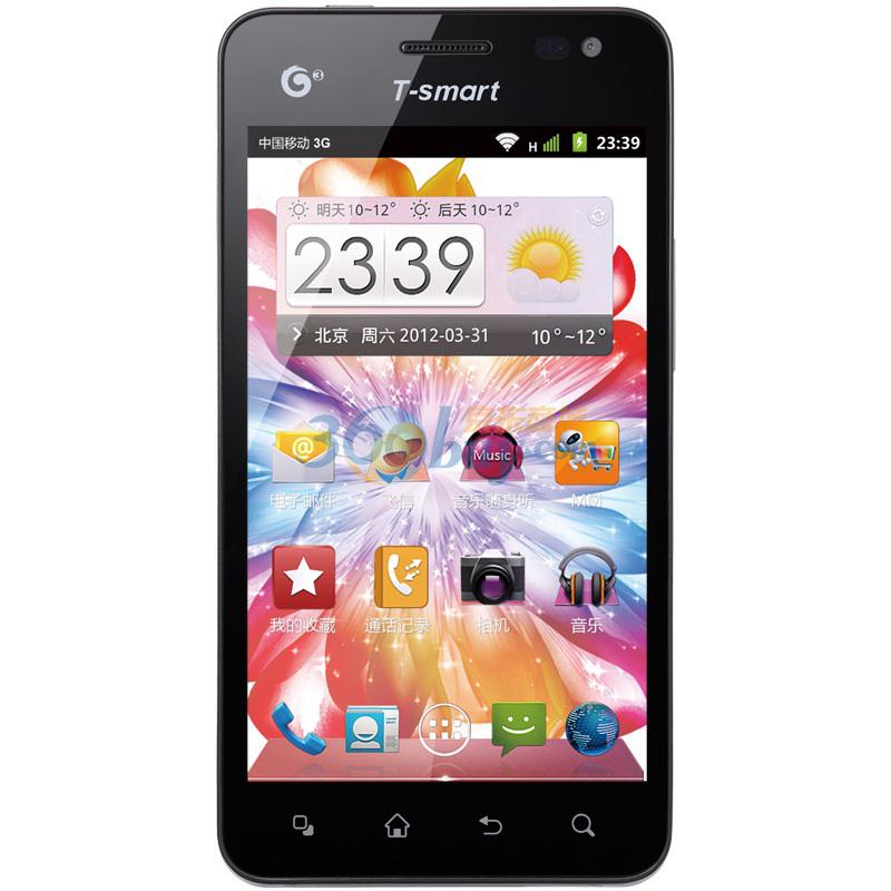 天迈(t-smart)d08 3g手机(黑色)td-scdma/gsm
