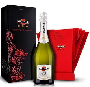 artini 马天尼 阿斯蒂起泡葡萄酒750ml礼盒装